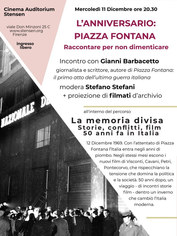 Anniversario Piazza Fontana 2